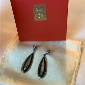 James Avery sterling silver drop earrings